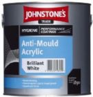 Johnstone's Hygiene Coatings Anti-Mould Acrylic White or Magnolia 5 Litres